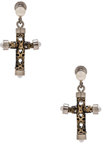 Givenchy Cross Earrings