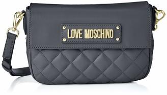 Love Moschino Women's Borsa Quilted Nappa Pu Messenger Bag