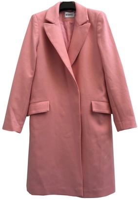 Misbhv Pink Wool Coats