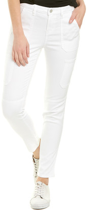 Elie Tahari Alice White Cargo Skinny Leg