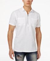 INC International Concepts Men's Linen Zip Popover Shirt, Created for Macy's