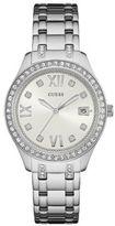 GUESS Waverly Crystal Studded Analog Bracelet Watch