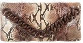 Michael Kors Python Envelope Clutch