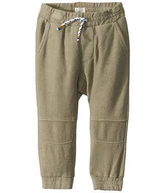 Olive Kids Peek PEEK Jogger (Infant) (Light Olive) Kid's Casual Pants