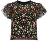 Needle & Thread Floral Embroidered Top
