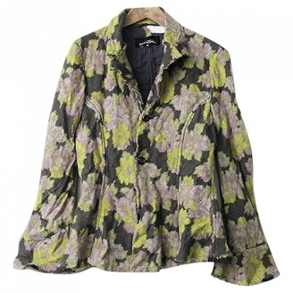 Comme des Garcons Green Wool Jacket for Women