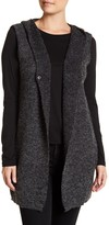 David & Young Hooded Knit Vest
