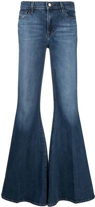 J Brand Ultra Flared Jeans