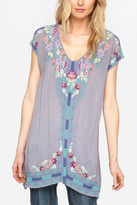 Johnny Was Yasi Embroidered Tunic