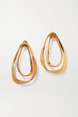 Alexander McQueen Gold-tone Earrings - one size
