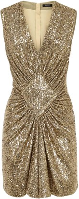 Balmain Dresses Golden