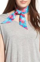 Kate Spade Women's Tangier Floral Silk Skinny Scarf