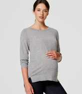 LOFT Maternity Button Back Sweater