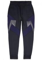 Neil Barrett Faux Leather And Neoprene Jogging Trousers