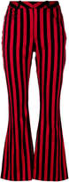 Marques Almeida Marques'almeida striped flared trousers
