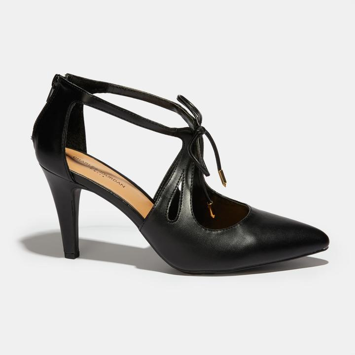 Charles Jourdan Tyra Caged Bow Pump