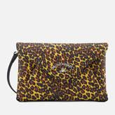 Vivienne Westwood Women's Leopard Envelope Bag Yellow