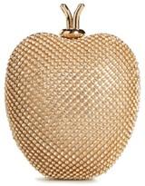 Girl's David Charles Crystal Apple Bag - Metallic