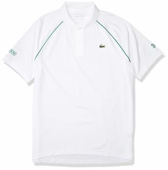 Lacoste Men's Sport Novak Djokovic Solid Technical Polo Shirt
