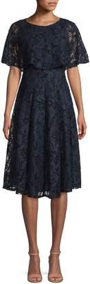 Gabby Skye Lace Knee-Length Dress