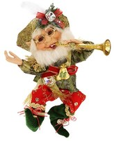 Mark Roberts '11 Pipers Piping' Small Elf