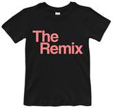 Urban Smalls Black 'The Remix' Tee - Toddler & Girls