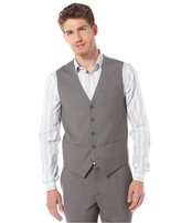 Perry Ellis Men's Button Front Vest