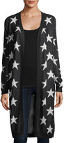 philosophy Allover-Stars Open-Front Cardigan