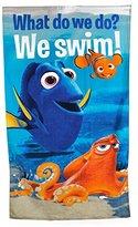 Disney Pixar Childrens/Kids Finding Dory Cotton Beach Towel (55in x 28in) (Blue)