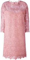Ermanno Scervino lace overlay dress - women - Cotton/Acrylic/Polyamide/Polyester - 42