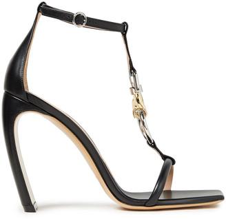 Lanvin Embellished Leather Sandals