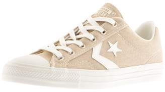 Converse Star Player OX Trainers Beige