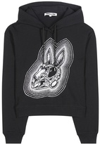 McQ by Alexander McQueen Printed Cotton Hoodie