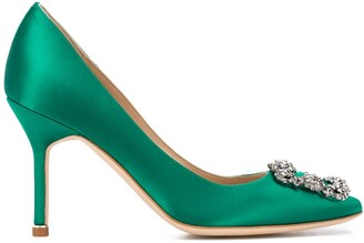 Manolo Blahnik Hangisi pointed pumps