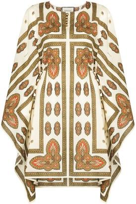 Gucci Paisley Pattern Kaftan