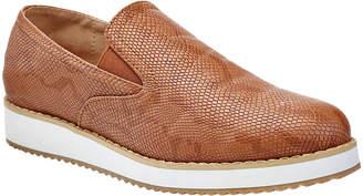 Henry Ferrera Women's Sneakers CAMEL - Camel Snake-Embossed Cody Sneaker - Women