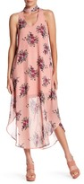 Just For Wraps Floral Halter Maxi Dress
