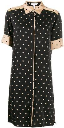 Escada Sport polka-dot shirt dress