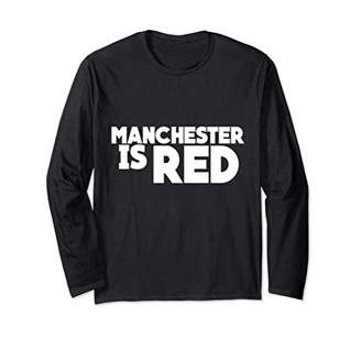 Manchester Is Red Long Sleeve T-Shirt