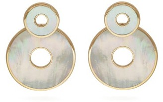 Mother of Pearl Retrouvai - Swivel Mother-of-pearl & 14kt Gold Earrings - Womens - Pearl
