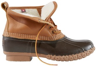 "L.L. Bean Men's Bean Boots, 6"" Sherpa-Lined PrimaLoft"