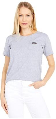 Burton Classic Short Sleeve Pocket T-Shirt (Gray Heather) Women's Clothing