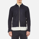 Oliver Spencer Suede Buck Jacket Navy Suede