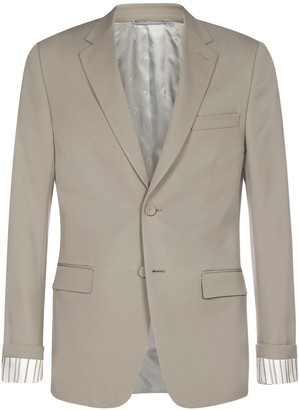 Christian Dior Striped Sleeve Blazer