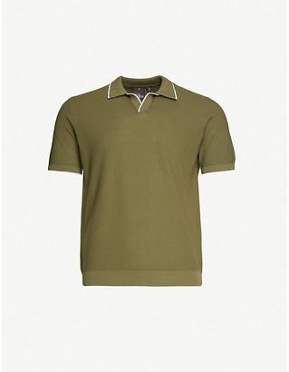 Oscar Jacobson Marvin cotton-knit polo shirt
