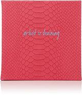 "Barneys New York Artist In Training"" Python-Embossed Leather Sketchbook"