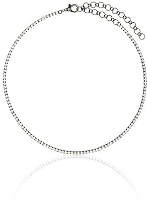 Shay 18kt Black Gold Diamond Choker