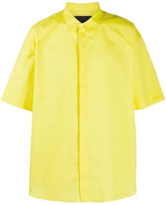 Juun.J Short-Sleeved Buttoned Shirt