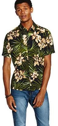 Casual Shirt Company Men's Sludgy Floral Short Sleeve Casual Shirt