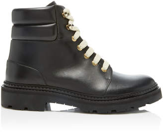 Bally Leather Hiking Boots